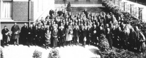 1924 meeting in Delft, The Netherlands
